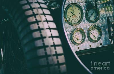 Essence Of Bugatti Poster by Tim Gainey