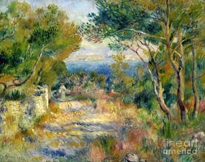 Estaque Poster by Renoir