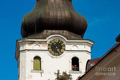 Estonian Baroque Onion Dome Poster by Christian Hallweger