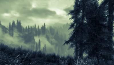 Eternal Shadow Falls  Poster