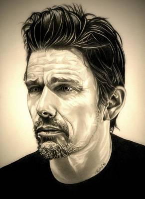 Ethan Hawke Poster by Fred Larucci