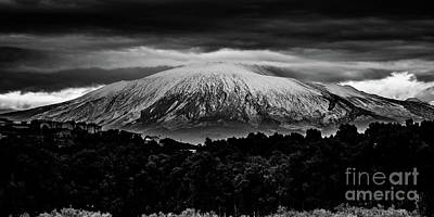 Etna, The West Side Poster