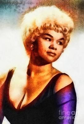 Etta James, Music Legend Poster