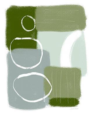 Eucalyptus Breeze 1- Art By Linda Woods Poster