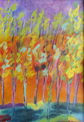 Eucalyptus Grove Poster by Diane Burgess