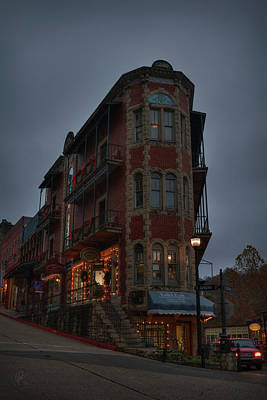 Poster featuring the photograph Eureka Springs - Flatiron Flats 001 by Lance Vaughn