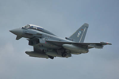 Poster featuring the photograph Eurofighter Ef2000 by Tim Beach