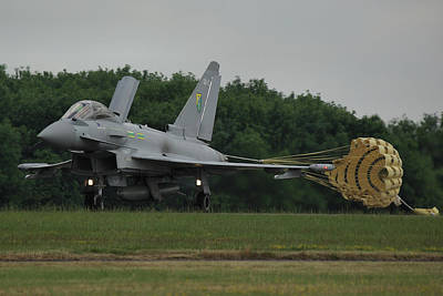 Eurofighter Typhoon Fgr4 Poster by Tim Beach