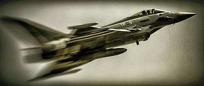 Eurofighter Typhoon Poster by Martin Newman