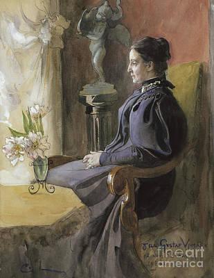 Eva Upmark, 1896  Poster