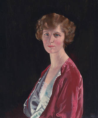 Evelyn Marshall Field Poster by William Orpen