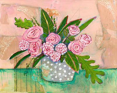 Evelyn Rose Flowers Poster