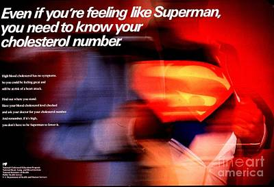 Even If You're Feeling Like Superman Poster by MotionAge Designs