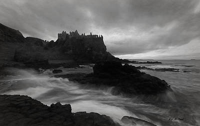 Poster featuring the photograph Evening At Dunluce by Roy  McPeak