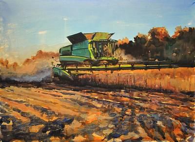 Evening Harvest Poster by Spencer Meagher
