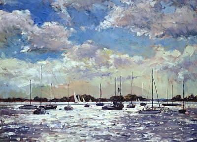 Evening Light - Gulf Of Morbihan Poster