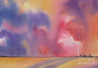 Evening Storm Poster by Deborah Ronglien