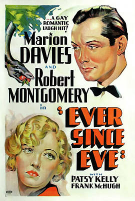 Ever Since Eve 1937 Poster