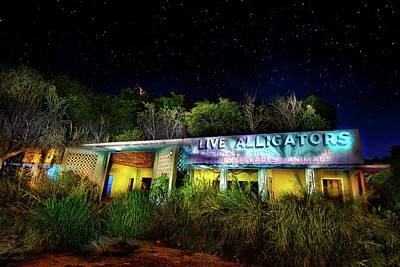 Everglades Gatorland Poster