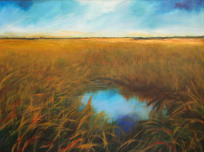 Everglades Poster by Michele Hollister - for Nancy Asbell