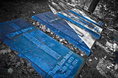 Everlasting Blue  Poster by Colleen Kammerer