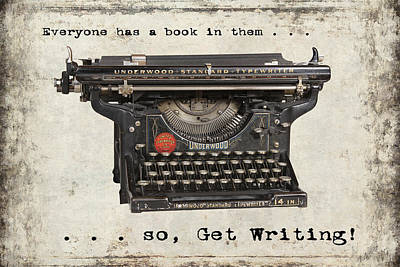 Everyone Has A Book In Them . . .  Poster by Daniel Hagerman