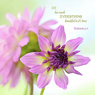 Everything Beautiful By Kaye Menner Poster