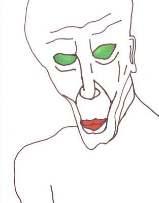 Evil Genius Poster by David Jacobi