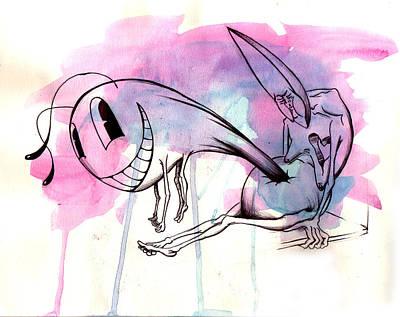 Evil Inside Poster by Matt Truiano
