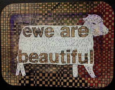 Ewe Are Beautiful Poster by William Douglas