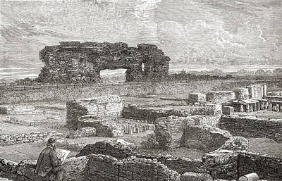 Excavations At Uriconium, Aka Poster