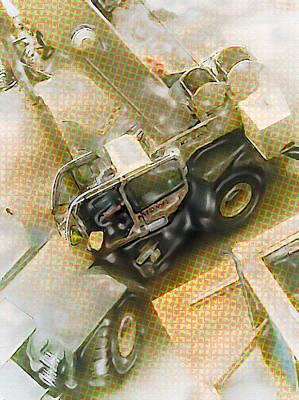 Excavator -02- Poster