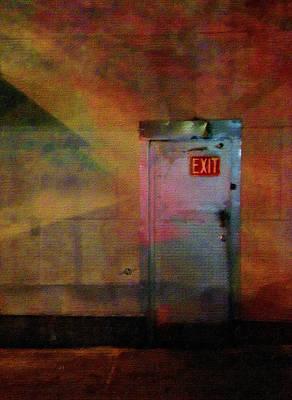 Exit 2 Poster by Tony Rubino