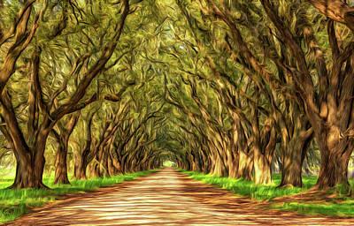 Exploring Louisiana - Paint Poster by Steve Harrington