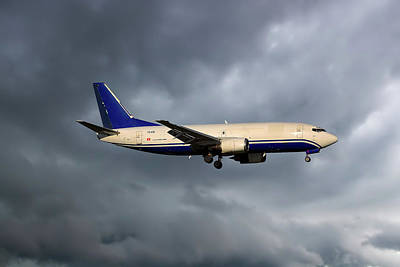 Express Air Cargo Boeing 737-3g7 Poster