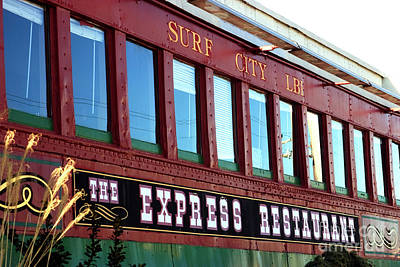 Poster featuring the photograph Express Restaurant by John Rizzuto