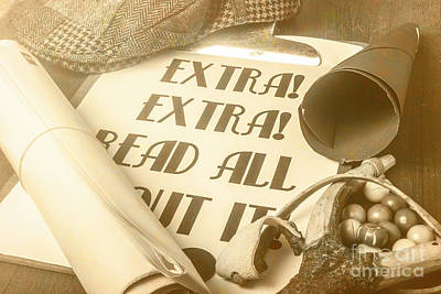 Extra Extra Read All About It Poster