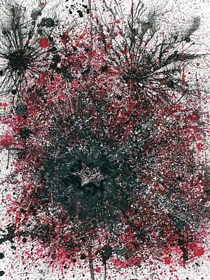 Extrasensory Astral Clairvoyance #438 Poster by Rainbow Artist Orlando L aka Kevin Orlando Lau