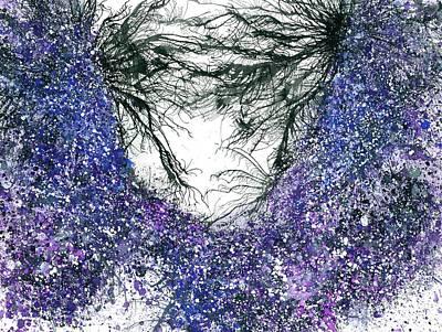 Extrasensory Astral Clairvoyance #439 Poster by Rainbow Artist Orlando L aka Kevin Orlando Lau