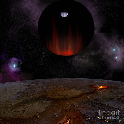 Extrasolar Planet Hd149026b Poster