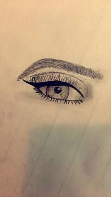 Eye For An Eye Poster by Alyssa Parson