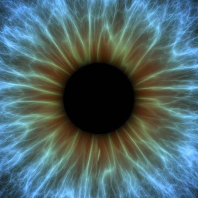 Eye, Iris Poster