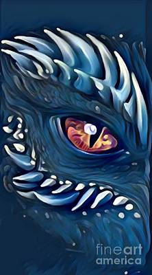 Eye Of The Dragon - Beast Mode Poster