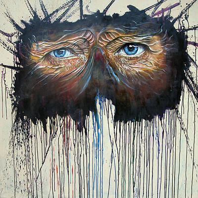 Eye Of The One Poster by Ole Hedeager Mejlvang