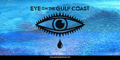 Eye On The Gulf Coast Poster