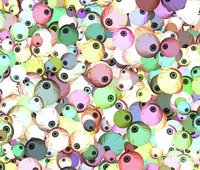 Eyeballs Poster by Methune Hively