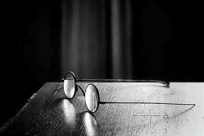 Eyeglasses - Spectacles Poster by Nikolyn McDonald