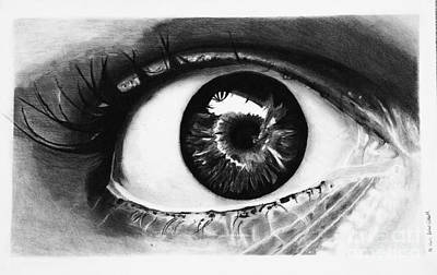 Eyes Are The Window Of The Soul Poster by Isabellas Artstudio