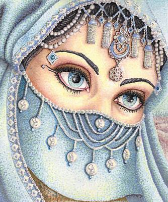 Eyes Like Water Poster by Scarlett Royal