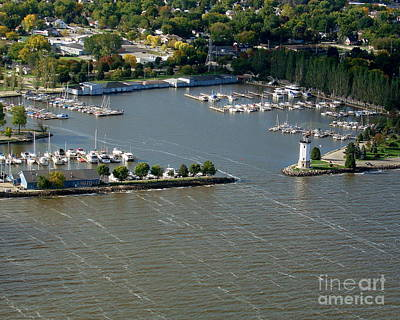 F-003 Fond Du Lac Wisconsin Harbor Poster by Bill Lang